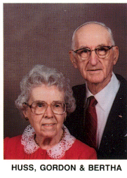 Gordon & Bertha Huss