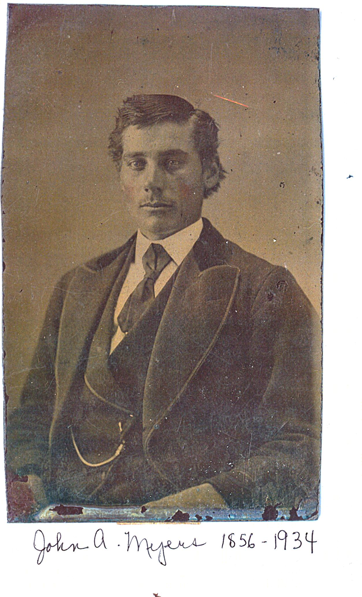 John a Myers 1856 copy