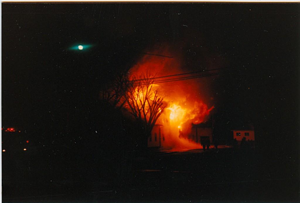 Luckey Lumber Fire p#19AFE6