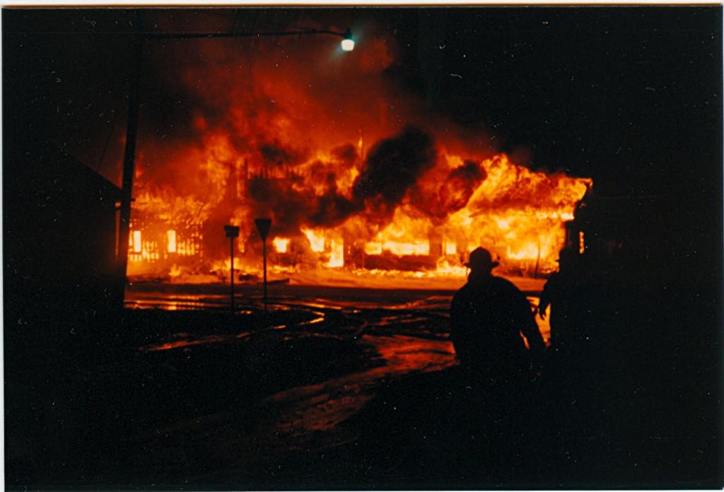 Luckey Lumber Fire p#19B014