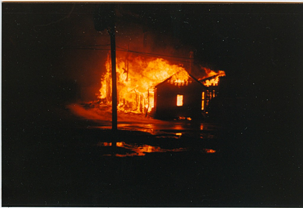 Luckey Lumber Fire p#19B045