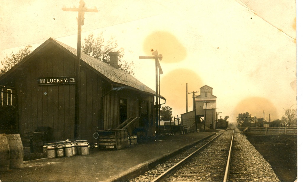 Train Depot about 1919